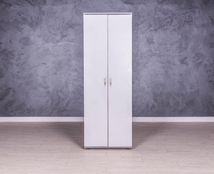 Шкаф для одежды серый