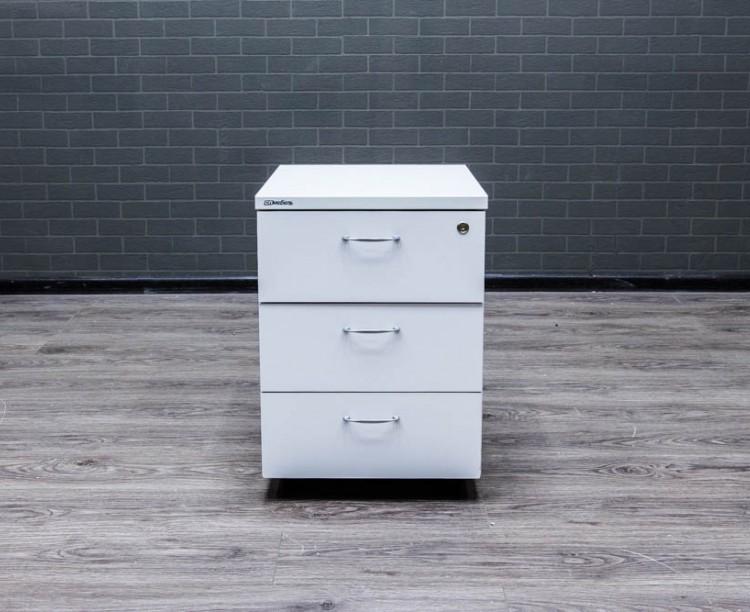 Тумба подкатная белая СП-Мебель