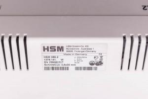 Шредер HSM 386.2