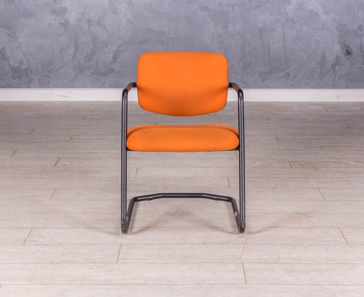 Стулдля посетителей оранжевый