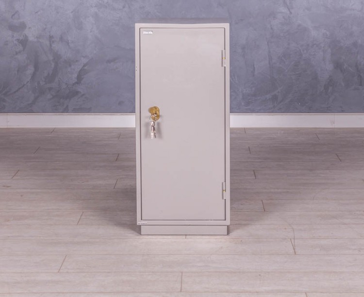 Шкаф-сейф металлический низкий