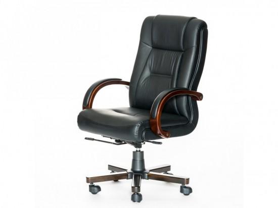 Кресло руководителя кожаное, новое