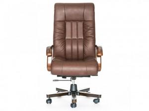 Компьютерное кресло руководителя, натуральная кожа