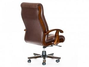 Новое офисное кресло, натуральная кожа