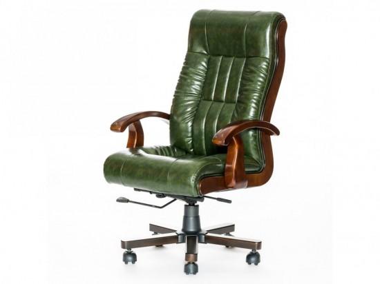Кресло руководителя новое, зеленое