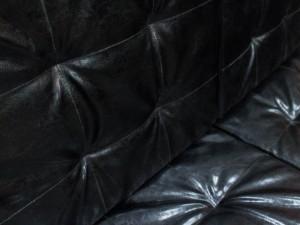 Диван для офиса новый трехместный, черный