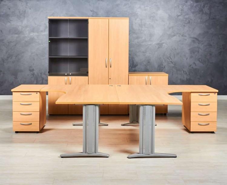 Комплект офисной мебели для двух сотрудников