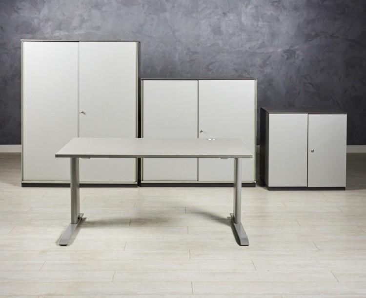 Комплект для персонала Bene цвет серый/графит