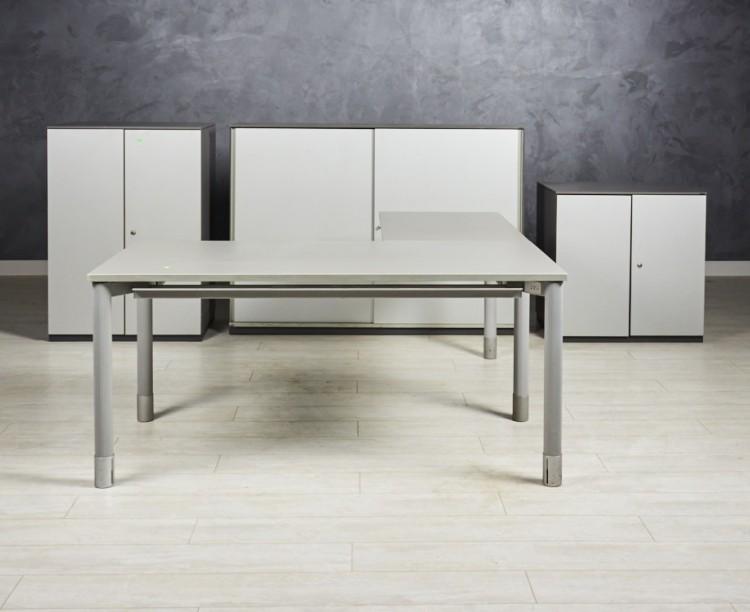 Комплект офисный Bene серый