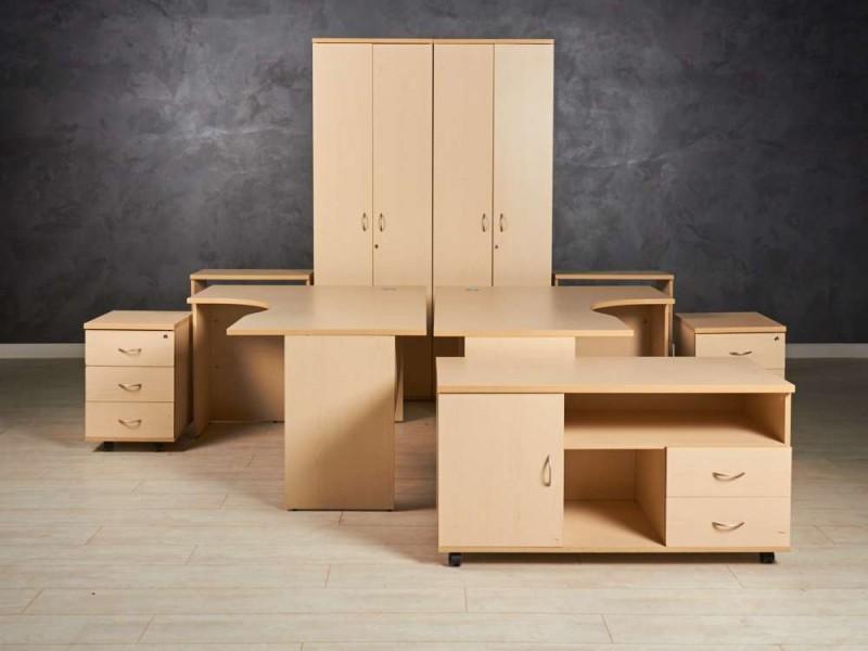 Офисная мебель комплект  для двоих сотрудников
