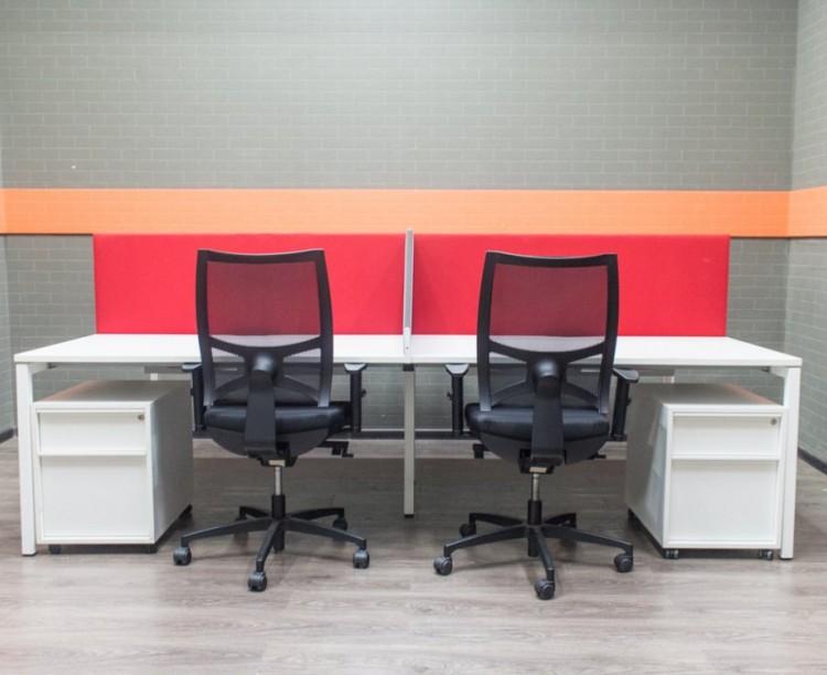 Комплект офисный на 4 сотр, Narbutas и Sitland