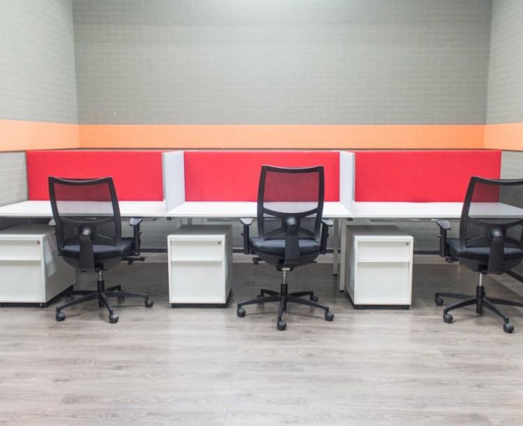 Комплект офисный Narbutas на 6 сотрудников с креслами