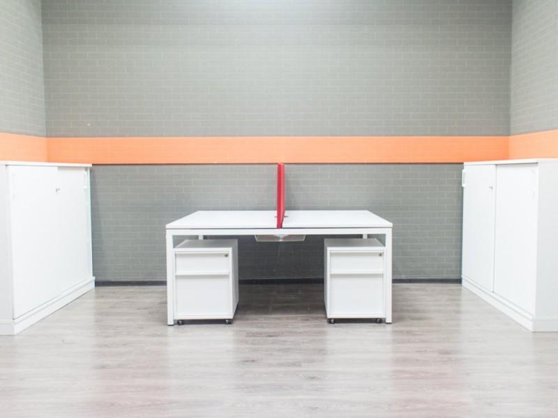 Комплект офисной мебели для двух сотрудников, Narbutas