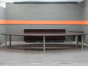 Комплект мебели в переговорную. Офисная мебель бу