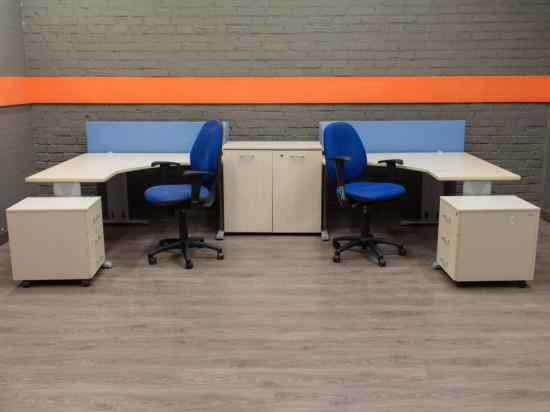 Комплект мебели для двух сотрудников