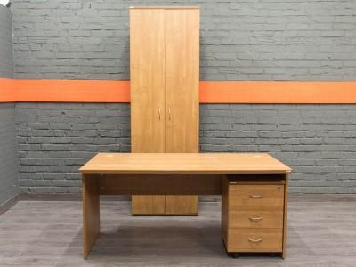 Комплект мебели для сотрудника Феликс, ольха