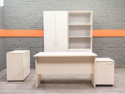 Комплект офисный для менеджера, сотрудника, дуб Офисная мебель бу.