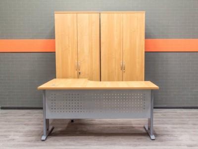 Комплект офисной мебели, ольха