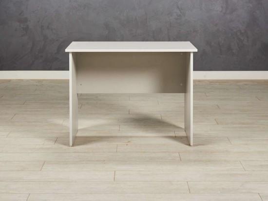 Стол офисный прямой, цвет серый