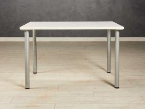 Стол прямой белый