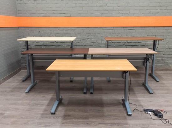Офисный стол с электроприводом Conset 501-15, в ассортименте