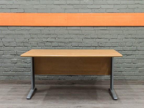Офисный стол письменный, ольха