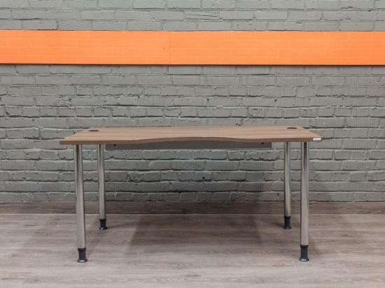 Компьютерный стол в офис, ясень шимо