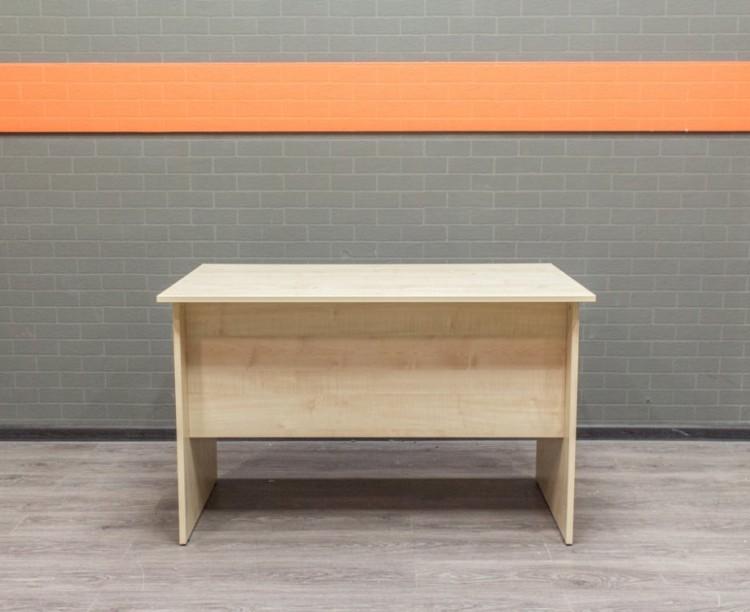 Стол прямой письменный, компьютерный, Офисная мебель бу, клен
