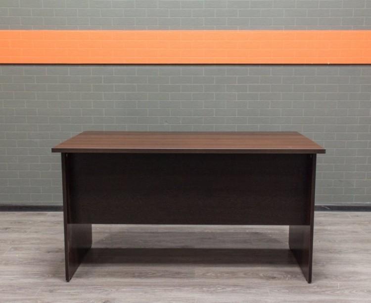 Прямой письменный стол, шоколад