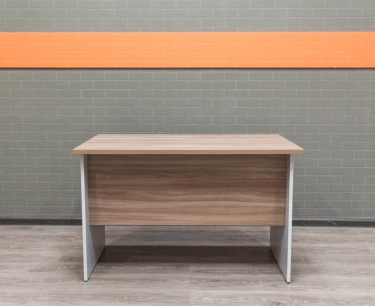 Офисный стол прямой, ясень.
