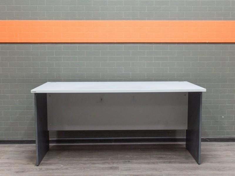 Стол письменный серый, офисная мебель бу