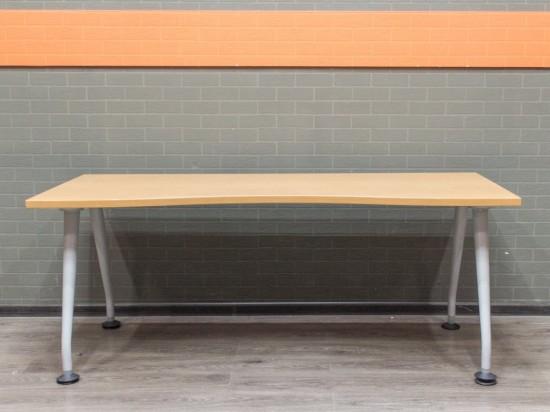 Стол компьютерный вишня, офисная мебель бу