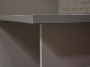 Стол офисный письменный, прямой