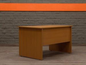 Прямой письменный стол, вишня