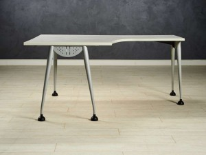 Стол угловой LAS, цвет серый