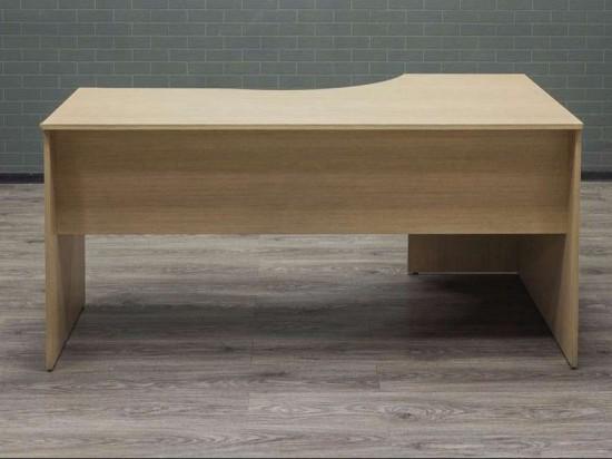 Стол офисный угловой Дуб