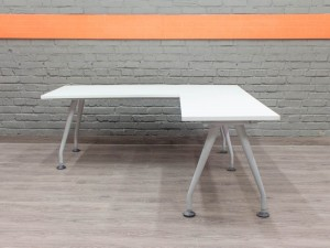 Стол офисный белый Knoll, офисная мебель бу