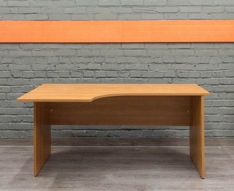 Офисный стол эргономичный, Офисная мебель бу. ольха
