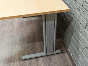 Стол офисный угловой, бук