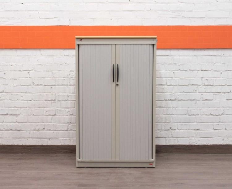 Шкаф металлический низкий