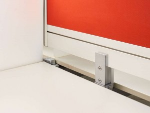 Бенч-система, стол для четырёх сотрудников