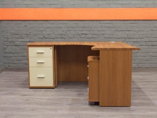 Феликс Технофорвард угловой стол с тумбами