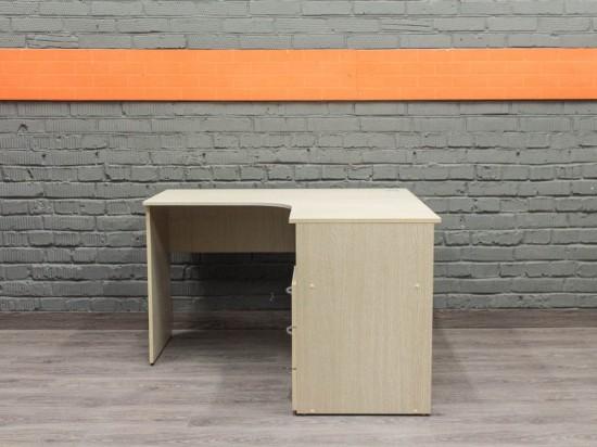 Компьютерный стол с тумбой, угловой