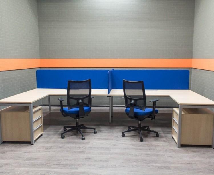 Офисная мебель бу Narbutas & Co бенч-система