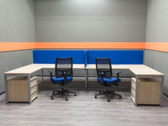 Офисная мебель для сотрудников, бенч-система