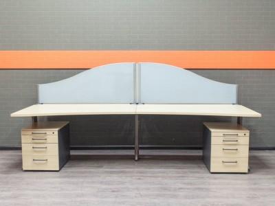 Бенч-система клен Офисная мебель бу