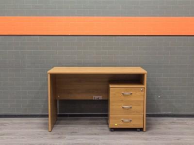 Стол офисный с тумбой, офисная мебель бу