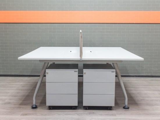 Стол офисный с экраном, офисная мебель бу