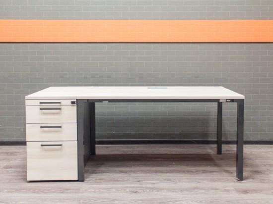 Steelcase стол с тумбой, офисная мебель бу