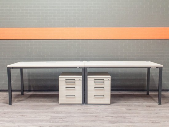 Комплект офисный Steelcase клен